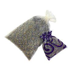 Dried Organic Lavender Sachet by SelemeHealth on Etsy