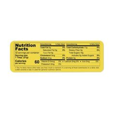New Honey Nutrition Facts for the updated FDA standard - horizontal format for large and small honey jars. Change the text for number of servings per your container size. Sport Nutrition, Nutrition Plans, Nutrition Information, Nutrition Education, Nutrition Tips, Health And Nutrition, Holistic Nutrition, Proper Nutrition, Nutrition Activities