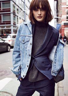 Top Peça: Jaqueta Jeans!