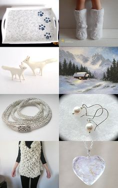 Footprints in the Snow by Tommye on Etsy--Pinned with TreasuryPin.com