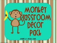 Monkey themed classroom ideas - Google Search
