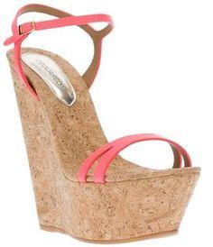 shopstyle.com: Dsquared2 platform wedge sandal