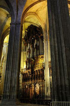Catedral de  Sevilla Interior  Spain
