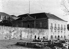 Lisboa de Antigamente: Instituto Agrícola e Chafariz da Cruz do Taboado