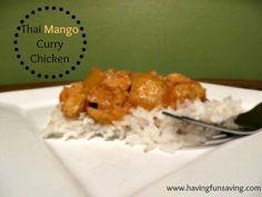 Thai Mango Curry Chicken Recipe