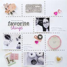 #Papercraft #scrapbook #layout. MariaLacuesta-CratePaper-CHALayout-4-470