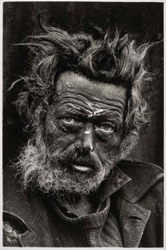 Don McCullin Homeless Irishman, Aldgate, East End, London 1970