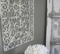Turn a Rubber Door Mat into Wall Art