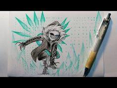 How to draw Virus Sans || Undertale || Vẽ Virus Sans - YouTube