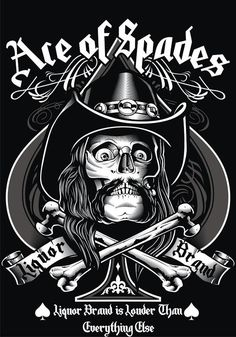 Ace of Spades by Tommy Surya - Motorhead's Lemmy Kilmister Issues Personal Statement Regarding Cancellations + His Health http://loudwire.com/motorhead-lemmy-kilmister-personal-statement-cancellations-health/