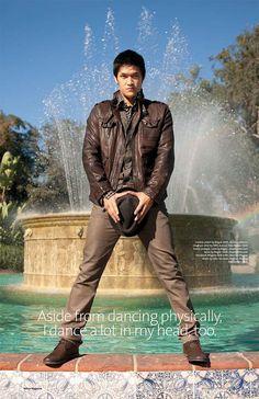 Harry Shum Jr. from Glee, Awesome dancer, actor, singer and Facebooker. :)