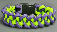 Learn how to make a Basic Cobra paracord bracelet without Buckles. Simple video instraction about making basic cobra paracord bracelet.…