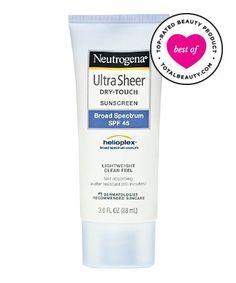 Best Sunscreen No. 11: Neutrogena Ultra Sheer Dry-Touch Sunscreen Broad Spectrum SPF 45, $9.49