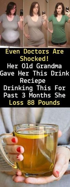 Even Doctors Are Shocked! Her Old Grandma Gave Her This Drink Recipe Drinking This For Past 3 Months She Loss 88 Pounds