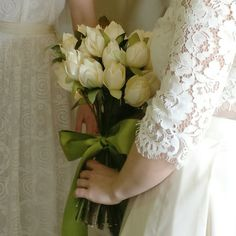 Everlasting bouquet made from satin by TheElephantJourney
