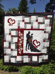 From This Moment - A wedding Quilt - via @Craftsy