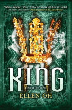 Winter Cover Reveals via Epic Reads - King by Ellen Oh -  This is the final book in the Prophecy series! The first two books are Prophecy and Warrior. • On sale March 2015