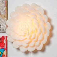 Power Petal Wall Light