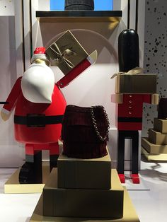 """BURBERRY,New York, """"Gifts for All...With Love"""", photo by Mizhattan, pinned by Ton van der Veer"""