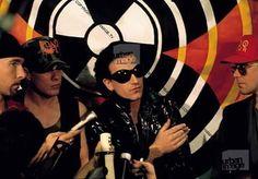 "#U2History - 19th June 1992: @u2 live at #GMexCenter in #Manchester for the ""Stop Sellafield"" concert for Greenpeace. Photo By: ©Carraro Mauro and ©Adrian Boot VIA: U2start.com and UrbanImage.tv #U2NewsIT #U2 #u2memes #Bono #BonoVox #TheEdge #AdamClayton #LarryMullenjr #rock #music #rockmusic #rockband #band #90s #90sstyle #90smusic #90srock #singer #guitarist #bassist #drummer"