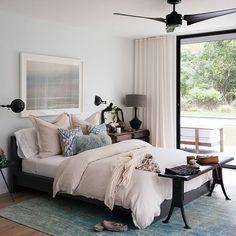 Bedroom | American beach house | House tour | PHOTO GALLERY | Livingetc | Housetohome.co.uk