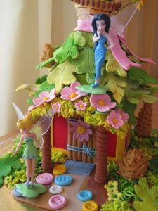 bolos decorados fadas