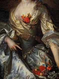 Nicolas de LARGILLIERE Paris, 1656 – Paris, 1746 Portrait de femme, dit « l'Intendante » Huile sur toile Don Lennel, 1922 Abbeville, musée Boucher-de-Perthes