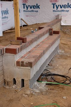How to build a brick step