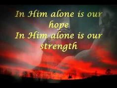 In Him alone Lyrics by Bukas Palad with Video | Christian Song Lyrics