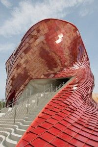 World Expo Milan, Vanke Pavilion, designed by Daniel Libeskind