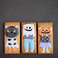 Trick or Treaters Cookies // masuko1219