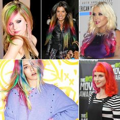 Candy-colored locks are all the rage in Hollywood. Would you try out the colorful trend? Find out what you need to know if you plan on going purple, pink or rainbow! #hair #hairdye #haircolor
