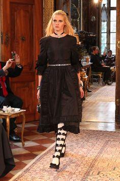 Chanel Pre-Fall 2015 Collection in Austria,Salzburg HarpersBAZAAR.com Model:Lala Stone