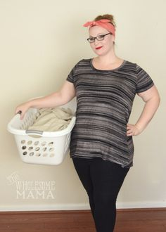 Why do laundry when you can just whip up one of these cute and flattering tees in less time then it takes to dry a load of clothes.