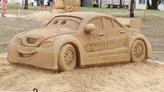 GALLERY: Disney.Pixar sand sculptures at Bella Vista Farm Park ...
