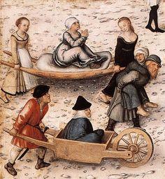 Lucas Cranach d. Ä. - The Fountain of Youth (detail)