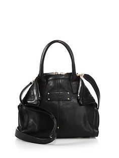 007ac9c8ff8 The Alexander McQueen Women s De Manta Mini Crossbody Black Leather  Messenger Bag is a top 10 member favorite on Tradesy.