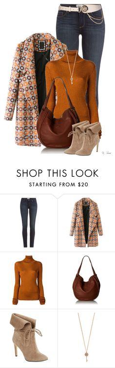 """Fall...ish"" by ksims-1 ❤ liked on Polyvore featuring Paige Denim, Chicnova Fashion, MARIOS, Lucky Brand, 424 Fifth and Aéropostale"