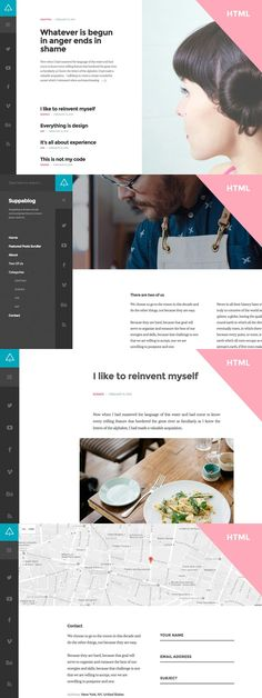 Suppablog - HTML Template. HTML/CSS Themes. $15.00