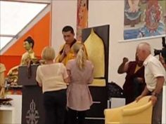 Buddhist initiation's preparation 2012 Germany, in the Karma Kagyu eurpoe center