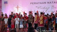 #HeyUnik  TOLERANSI itu Ketika Azan Iringi Lagu Gereja Di Perayaan Natal Nasional ? #Link #YangUnikEmangAsyik