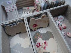 Cartonnettes à rubans