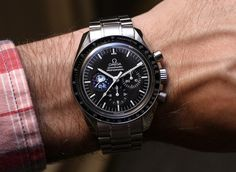"""Omega Celebrates The Speedmaster & The 45th Anniversary Of Apollo 13 - on aBlogtoWatch.com """"By today's standard's, Apollo went to the Moon and back with little more processing power than a calculator and the invaluable support of Mission Control. But even after suffering a mission-ending systems failure and despite all odds, Apollo 13 had all of the brain-power and tools required to make it back to Earth with no loss of life. One of the tools that brought them home was the Omega…"""