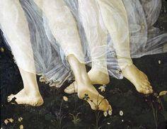 "Sandro Botticelli. ""Primavera"" (Allegory of Spring), Detail, 1482."