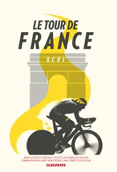 Amazing cycling poster from These Giants