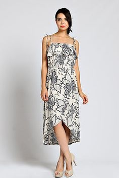 FLORAL PRINT CHIFFON TULIP DRESS- navy $29-  Beautiful, beautiful, beautiful!!!  This dress is PERFECT for all of your summer events!!! Look effortlessly stunning!  Timeless & classic...this dress will always be in style!  (Mobile user: Purchase by clicking on mobile link pinned to top of DAKOTA JACKSON BOUTIQUE Facebook pg.)  LIKE us on Facebook.