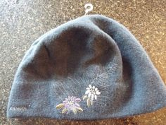 Kangol Florifer pull on Hat 100% Wool, Gray , Flowers, One size  #Kangol #Beanie #everyday
