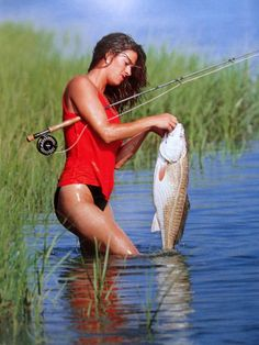 Nothing More sexy than a woman that knows how to fish #mendooutdoors