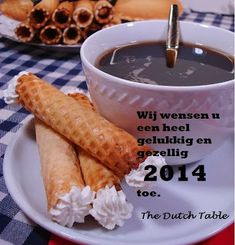 The Dutch Table: Kniepertjes (Dutch New Year's Cookies)