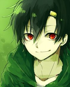boy, anime and kagerou project image on We Heart It